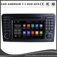 Android 7.1.1 Car DVD GPS Player For Mercedes Benz X164 W164 ML GL ML320 Radio BT 1024*600 Wifi Mirror Link 2GB RAM+16G ROM+DAB+