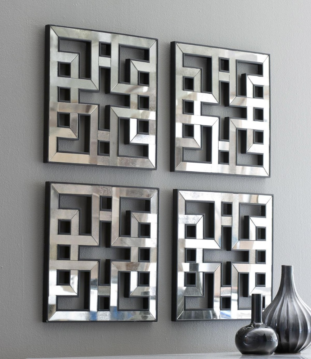 geomirrorspinterest feast for the eyes pinterest geometric designs grill design and walls - Mirrors And Wall Art