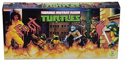 Original NECA <font><b>Teenage</b></font> <font><b>Mutant</b></font> <font><b>Ninja</b></font> <font><b>Turtles</b></font> TMNT Arcade Game Hero Figure Leo Raph Mikey Don <font><b>Foot</b></font> <font><b>Soldiers</b></font> Action Figure