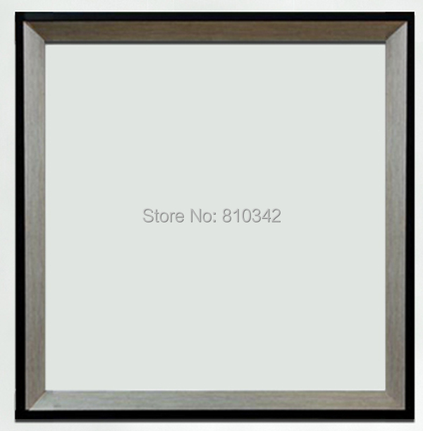Online Shop Modern wooden Frame for oil paintings and prints silver ...