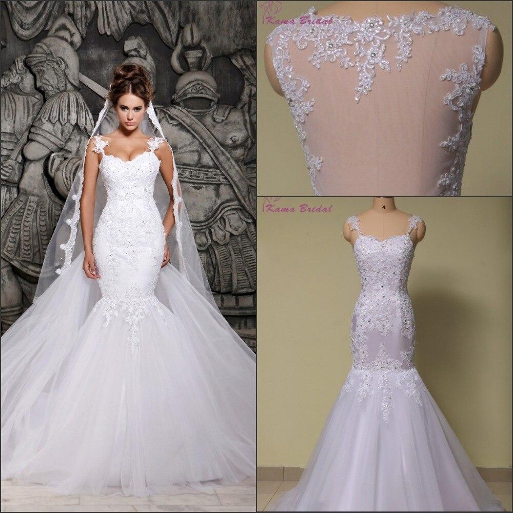Spring 2016 KAMA BRIDAL Mermaid Wedding Dress outdoor Wedding Gown ...