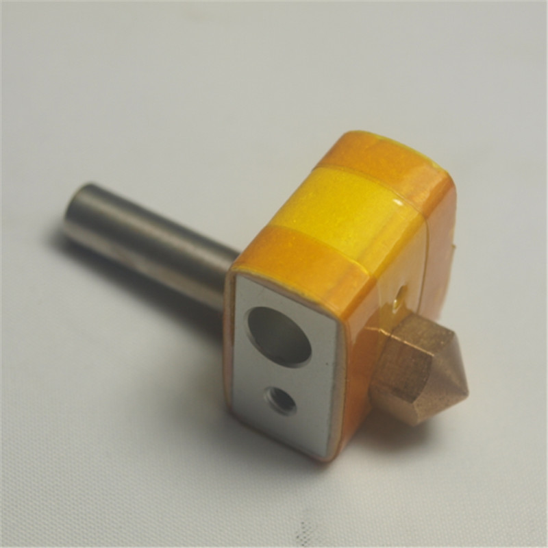 CTC 3D printer spare parts/accessories parts hotend kit PTFE inside nozzle+heater block+heat braek+insulation tape