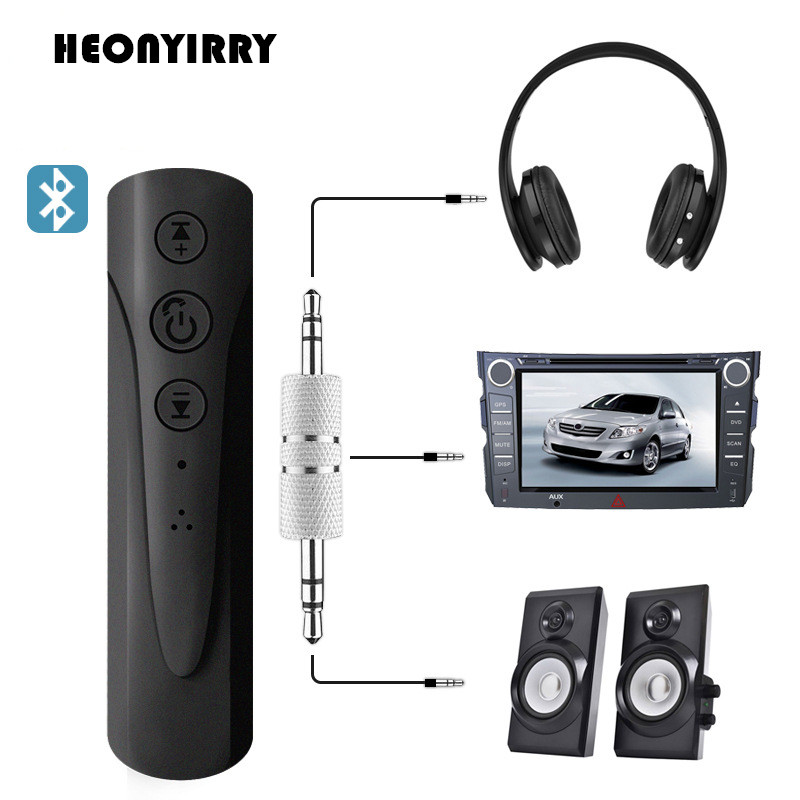 Bluetooth V4.2 Receiver 3.5mm Jack Aux Audio Receiver Adapter HandsFree Music Receiver MP3 Player Car Bluetooth Kit receiver