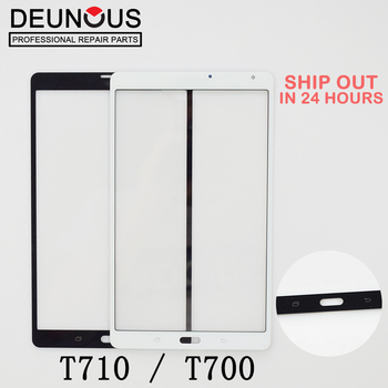 New Outer Glass For Samsung Galaxy Tab S 8.4 LTE T705 SM-T705/ T700 SM-T700 Touch Screen Panel Glass 10PCS