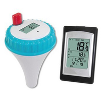 Professional Wireless Digital Swimming Pool Thermometer Waterproof LCD SPA Indoor Outdoor Pool Hot Tub Thermometer With Receiver