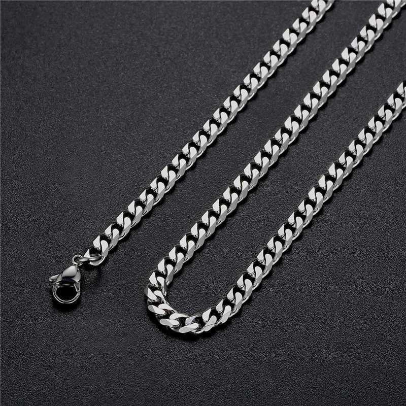Low price 6MM stainless steel NK Figaro chain necklace Fashion men's party jewelry Length 16-28inches Top Quality drop shipping