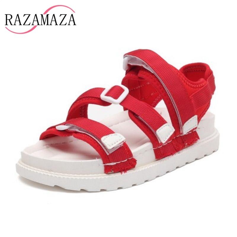 19ac517ae6e2 RAZAMAZA-4-Colors-Flats-Sandals -Open-Toe-Platform-Feamle-Summer-Shoes-Fashion-Sandals-For-Daily-Club.jpg