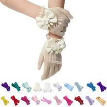 Детские перчатки для косплея принцессы малышка девочка Анна