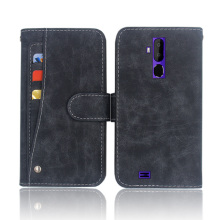 Hot! Oukitel C12 Pro Case High quality flip leather phone bag cover case for C12 Pro Oukitel with Front slide card slot pro slide