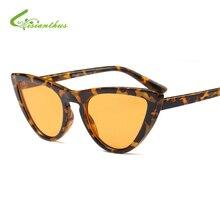 Cat Eye Sunglasses Mujeres de la Alta Calidad de lujo Diseñador de la Marca de Moda Gafas de Sol de La Vendimia Para Las Mujeres Mujeres Gafas de Sol UV400