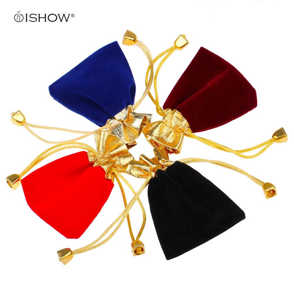 Weihnachtsstoff Geschenk Verpackung Taschen Samt Beutel Platz 9 cm ...