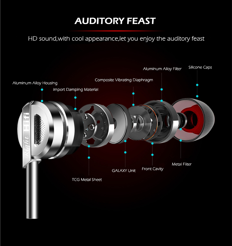 T3 TOP Sound Metal Earphone Earbuds Stereo Sound Music T3 TOP Sound Metal Earphone Earbuds Stereo Sound Music HTB1