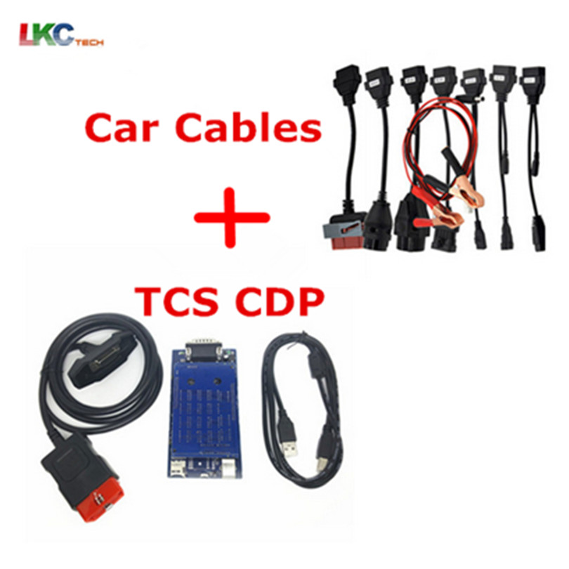 Sistema de Motor OBD2 Herramientas de diagn/óstico DS150 DS150E TCS para AUTOCOM Pro Bluetooth Detector de fallas de Camiones de autom/óviles