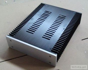 H2607 headphone enclosure full Aluminum AMP chassis DAC box premplifier case