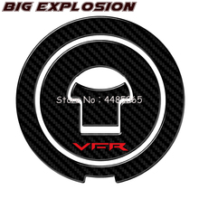 For Honda VFR VFR800 1988-2009 3D Carbon Fuel Motorcycle Gas Stopper Protector Decals Interceptor