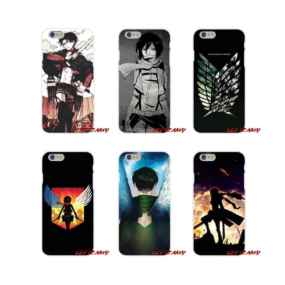 For Xiaomi Redmi 3 3S 4A 5A Pro Mi4 Mi4C Mi5S Mi6X Mi Max2 Note 3 4 5A anime Attack On Titan logo Accessories Phone Cases Covers