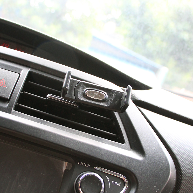 Автомобильный держатель телефона воздуха на выходе 360 градусов вращающийся автомобиль-Стайлинг подставкой для универсального Поддержка з…