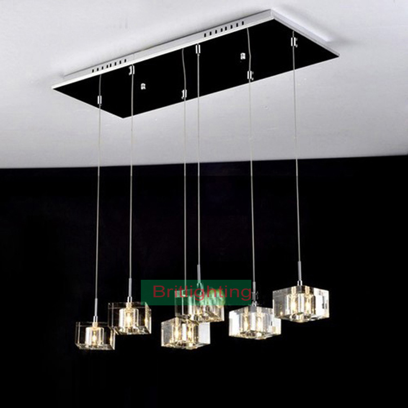 modern pendant light dinning Room pendant lamp crystal ...