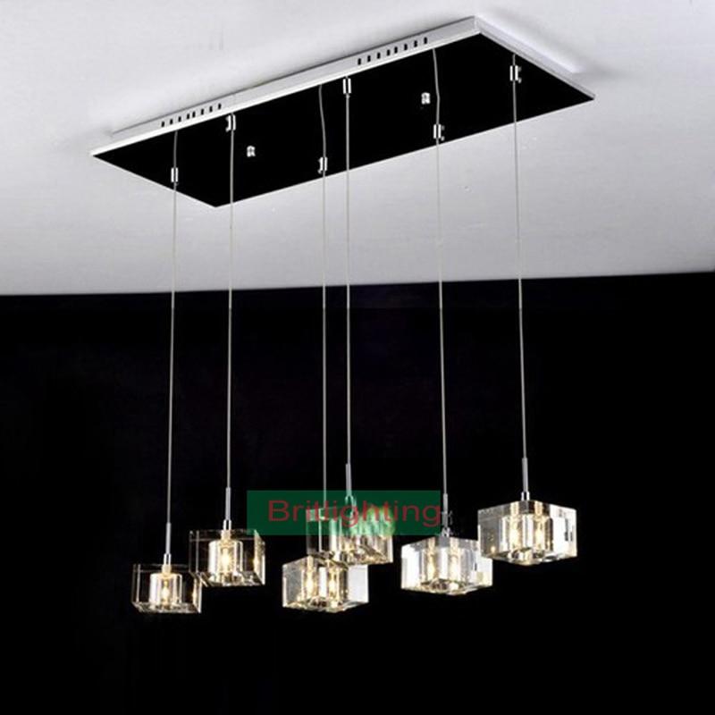 modern pendant light dinning Room pendant lamp crystal ...