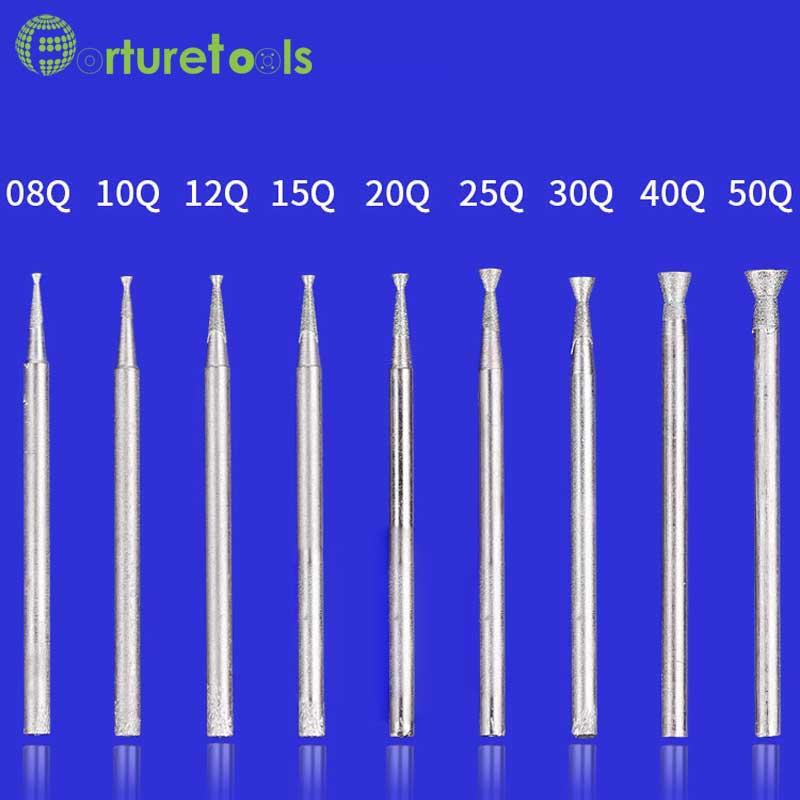 50 tk teemandiga kinnitatavad dremeli pöörlevad tööriistale - Abrasiivtööriistad - Foto 3