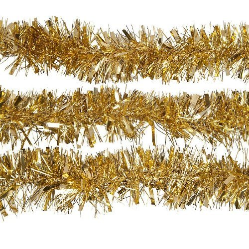 Online buy wholesale gold tinsel garland from china gold Garland tree decoration