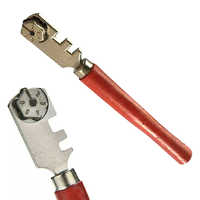 130mm Portable Professional Diamond Tipped 6 Wheels Glass Tile Cutter Window Craft For Hand Tool Glass Cutting knife