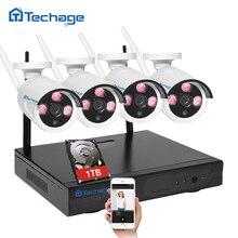 Подключи и Играй Беспроводной NVR Комплект Видеонаблюдения P2P 960 P 1,3-МЕГАПИКСЕЛЬНОЙ HD открытый ИК Ночного Видения Безопасности IP WIFI Камеры ВИДЕОНАБЛЮДЕНИЯ Системы 1 ТБ
