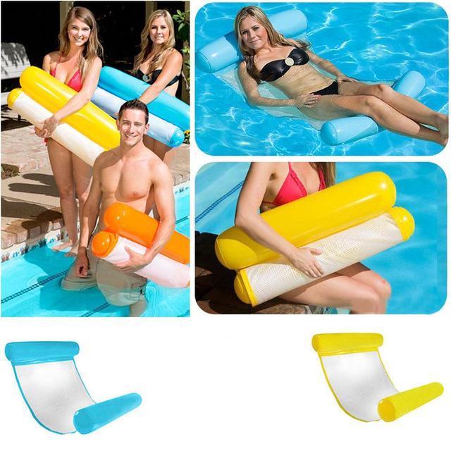 LeadingStar 1PCS Pool Floating Chair Float Water Swimming Pool ...