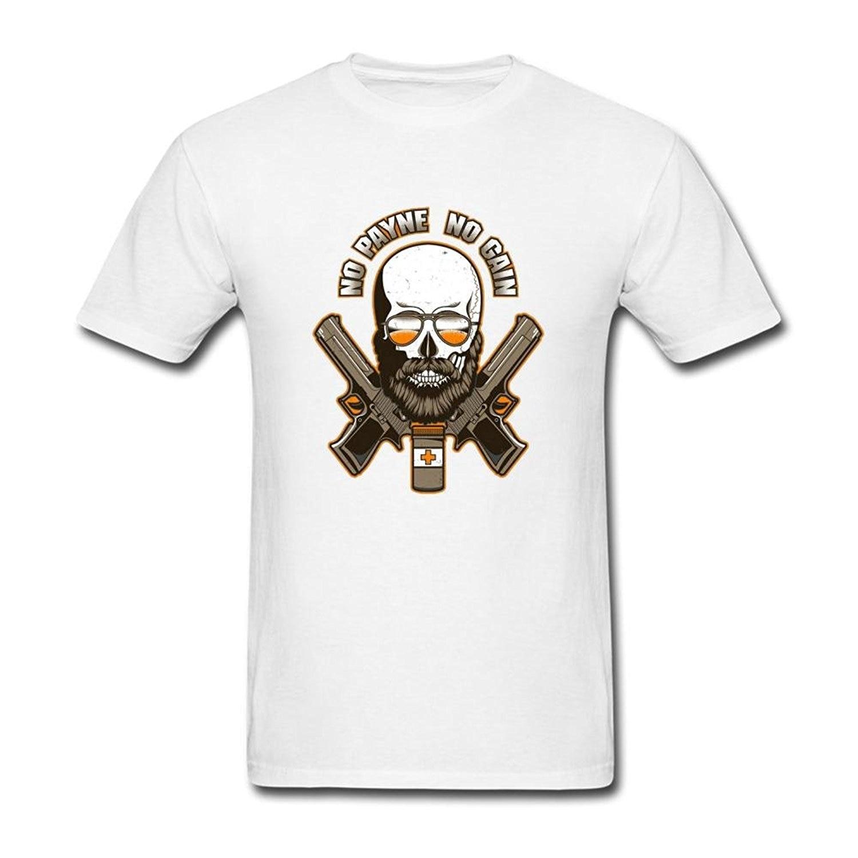 Pria Max Payne Yang Batu Dalam Rasa Sakit Dan Gain T Shirt