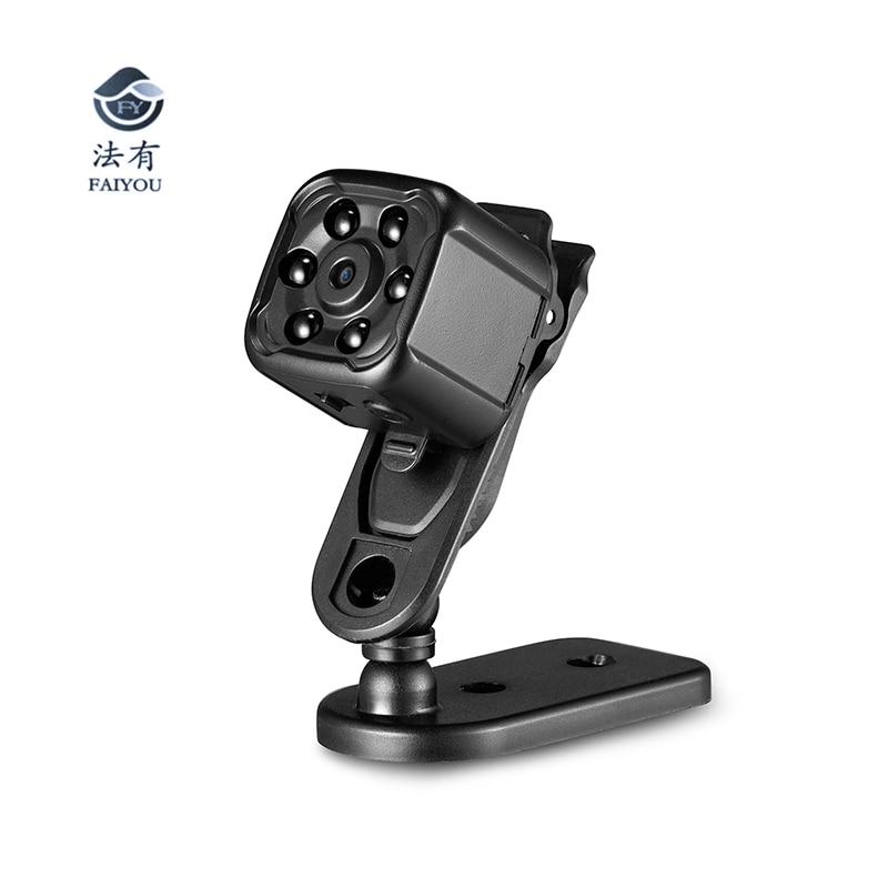 New Mini IR Night Vision Camera DVR HD 1080P Video Photo Recording Micro Camcorder DV Recorder AVI Format