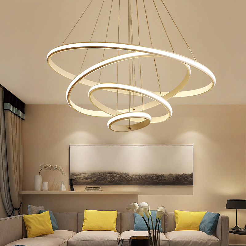 Diy Home Lighting Throughout Minimalism Diy Led Modern Chandeliers For Living Dining Room Home Lighting Acrylic Chandelier Hanging Lightings Kitchen Fixtures Aliexpresscom