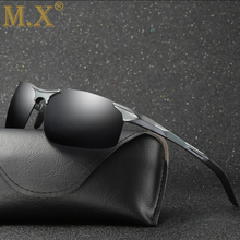 2019 Aluminum Magnesium Men Sunglasses Polarized Sports Driving Night Vision Goggles Sunglass Fishing UV400 Rimless Sun Glasses banmar aluminum magnesium men sunglasses polarized sports driving goggles sunglass fishing uv400 square sun glasses for men