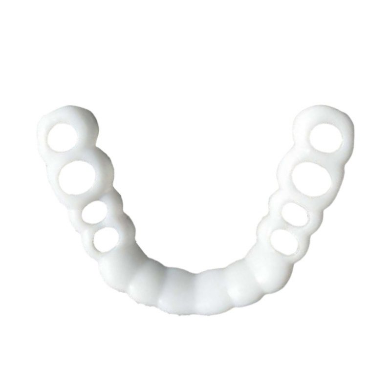 Teeth Cosmetic Instant Smile Comfort Fit Flex Cosmetic Teeth Denture Teeth Top Veneer Massage Relaxation 5