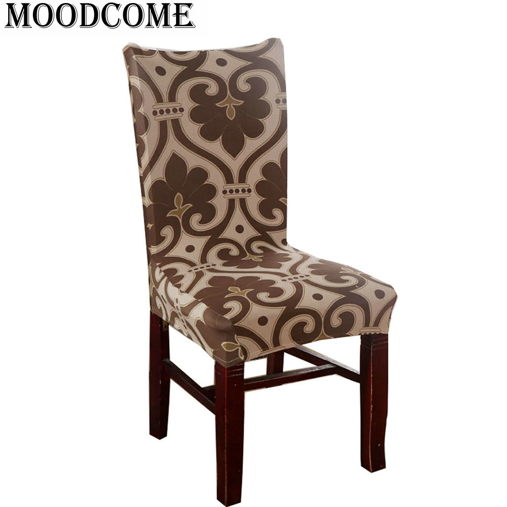 Stoelhoezen Eetkamer Beige Us 6 51 5 Off Aliexpress Buy French Lily Flower Chair Cover Spandex Stoelhoes Eetkamer Fleur De Lis Chair Cover For Wedding From Reliable