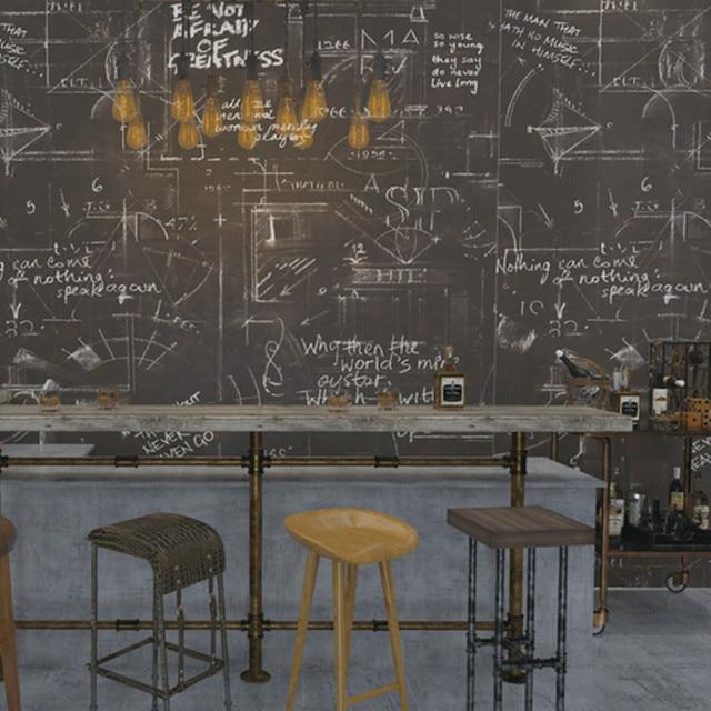 Tafel Tapete schwarz graffiti tapete für klassenzimmer tafel kreide poster