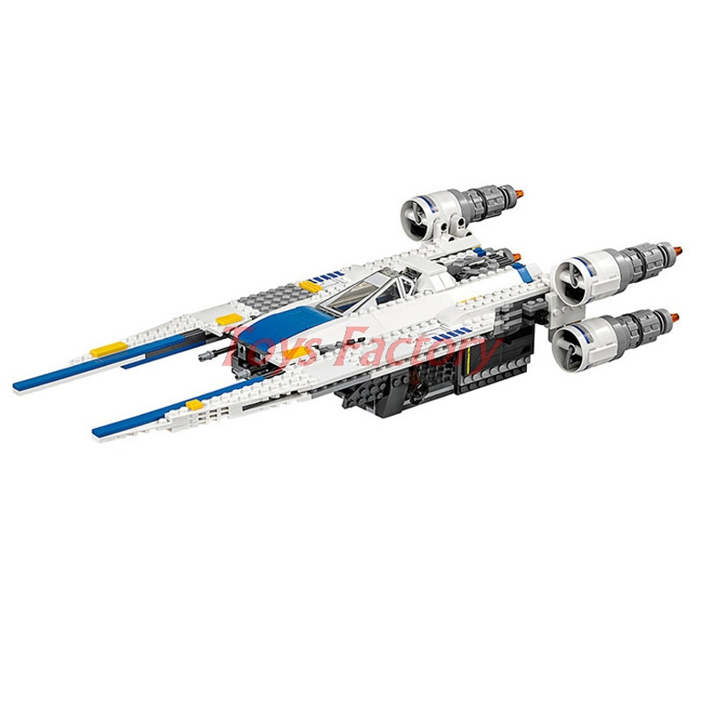 2018 DHL Lepin 05054 Genuine Star War Series The Rebel U-Wing Fighter Set Building Blocks Bricks Set Toys Clone 75155 dhl lepin 05055 star series military war the rogue one usc vader tie advanced fighter compatible 10175 building bricks block toy