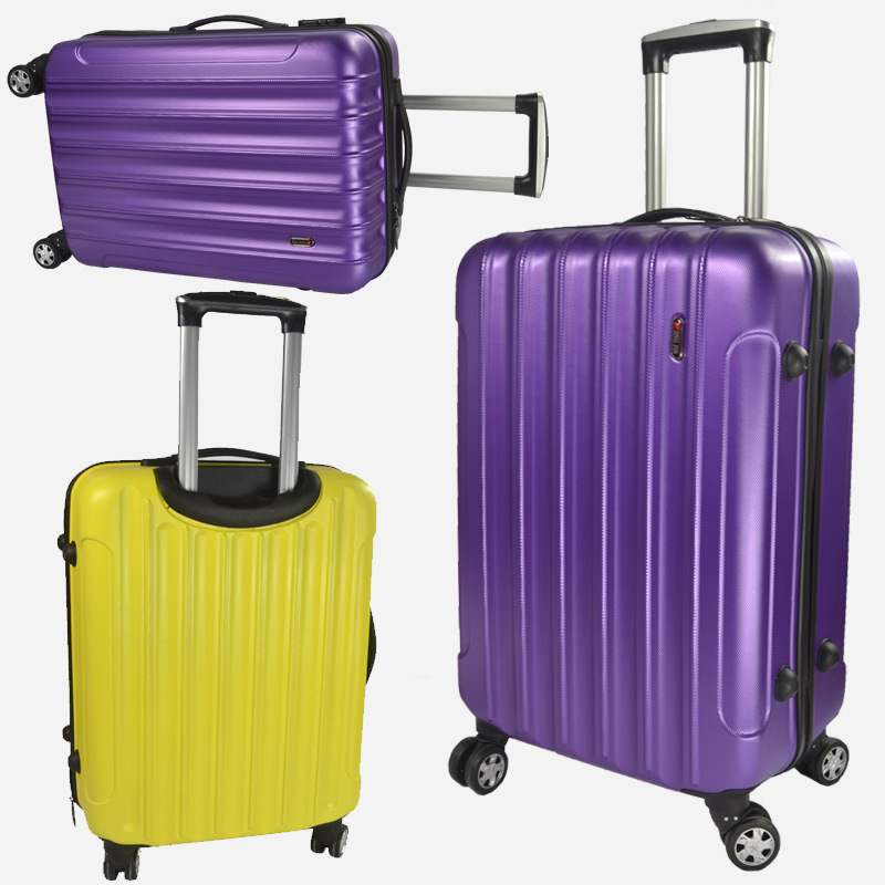 20-inch wheels rolling suitcase Check-in luggage abs luggage zipper box password boxes ...