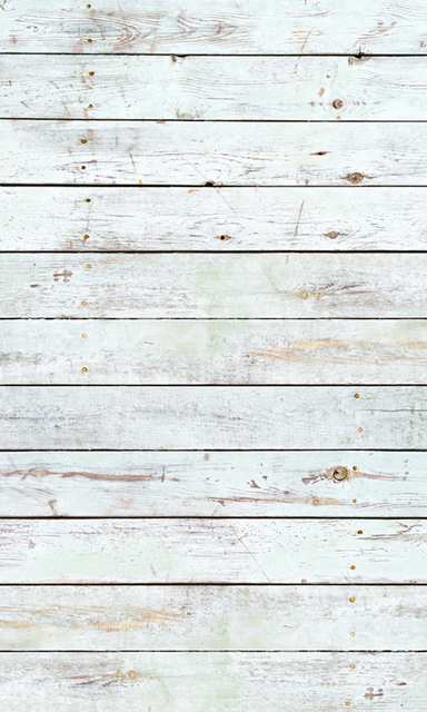 Huayi Vintage White Painted Wooden Wall Background Rustic Backdrop For Photo Studio D 9788