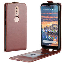 Luxury Retro Leather Cover case for Nokia 4.2 3.2 1 Plus 1Plus Wallet flip leather cases coque fundas Etui>
