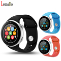 Lemado aiwatch c5 bluetooth 4.0 smart watch apoio nano sim card diy assista faces para ios android telefone pk c1