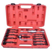 16pcs/set Multi-functional Internal bore bearing puller removal kit Inner hole Slide hammer puller Auto repair tool kit