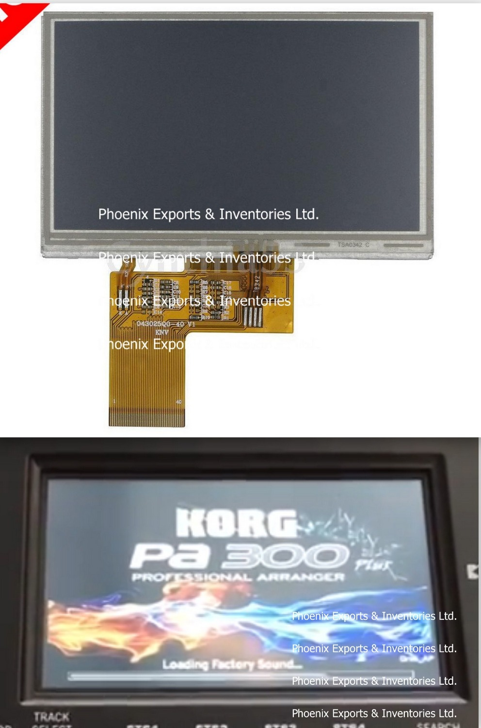 Original LMS700KF07-003 with Touch Screen Digitizer LMS700KF07 003
