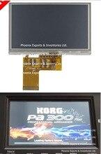 Korg pa300 lcd 스크린 디스플레이 터치 패널 용 터치 스크린 디지타이저가있는 기존 korg 디스플레이