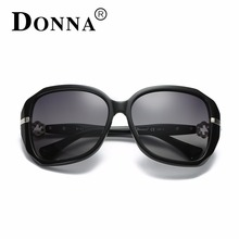 DONNA Fashion Polarized Sunglasses Women Retro Style Sun Glasses Famous Lady Brand Designer Oculos Feminino For Women D123