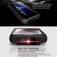 מכשיר הקשר כיבוש S10 IP68 מכשיר הקשר Rugged טלפון להוסיף פנס חזק / בר / QR Code / RFID / NFC ו- IOT Intelligent Handheld Smartphone (2)