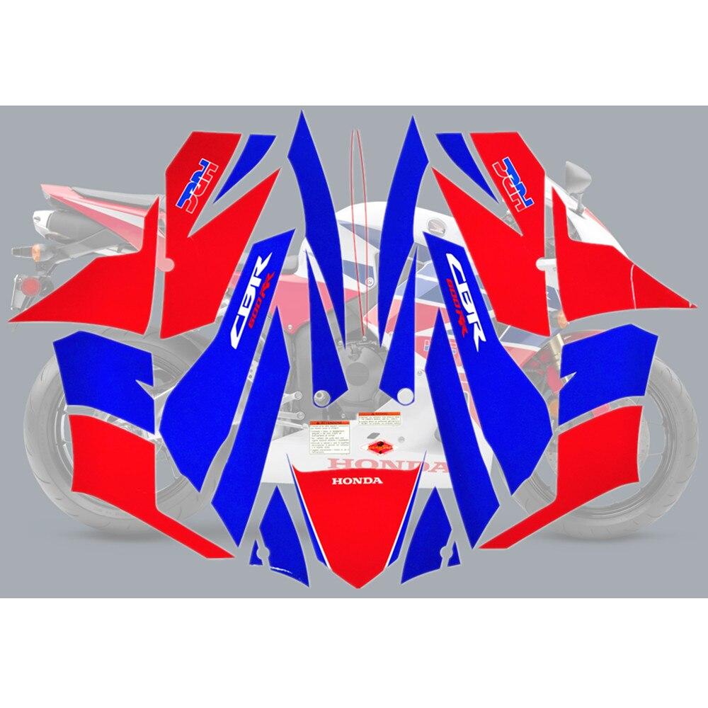 Motorcycle For Honda CBR600RR 13 14 CBR 600 RR 2013 2014 CBR600 F5 Fairing Sticker Full Kit Applique High Quality Whole Vehicle