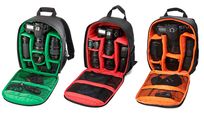 286ce5eae956 LANBEIKA Shoulders Backpack Pad Bags Shockproof Case Ordinary ...