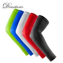 1 PCS Basketball Arm Sleeves Breathable Outdoor Cycling Running Arm Warmers Protectors For Sun Protection Sleeves Compression(China)