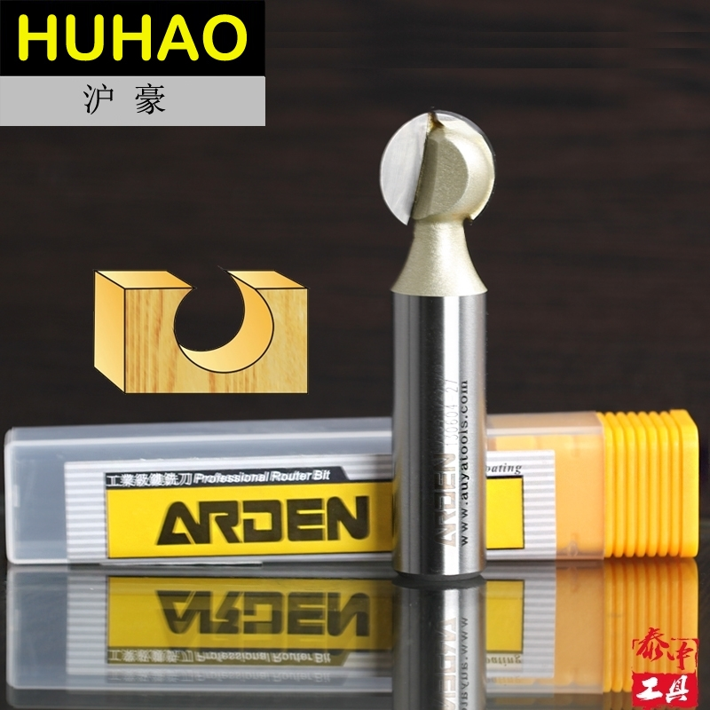 embouts routeur Woodworking Tool 1/4 Round Carving Bits Arden Router Bit - 1/4*3/8- 1/4 Shank - Arden A0504014 embouts routeur woodworking tools metric flute straight bit arden router bits 1 4 3mm 1 4 shank arden a0114024