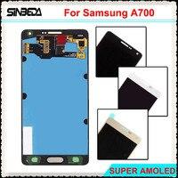 Sinbeda Super AMOLED HD 5 5 LCD Display For Samsung Galaxy A7 2015 A700 A700F LCD